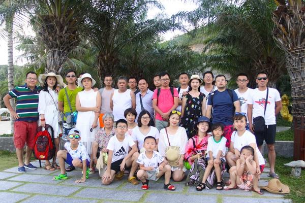 浙江龙8娱乐唯一授权建设有限公司工会活动—越南旅行